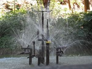 dribbler fountain