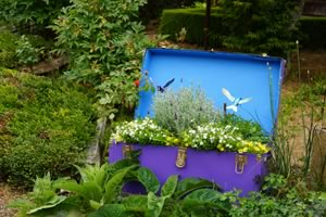treasure chest of garden whimsy